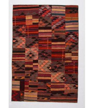 Patchwork Kilim carpet 300x202 cm