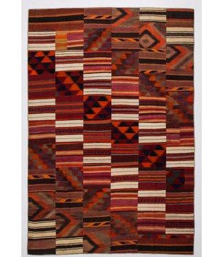 Patchwork Kilim carpet 378x256 cm