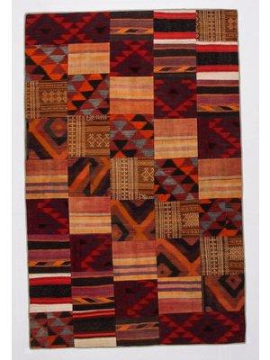 Patchwork Kelim teppich 316x204 cm