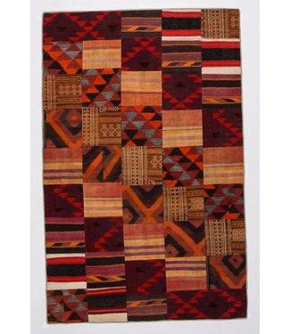 Patchwork Kilim carpet 316x204 cm