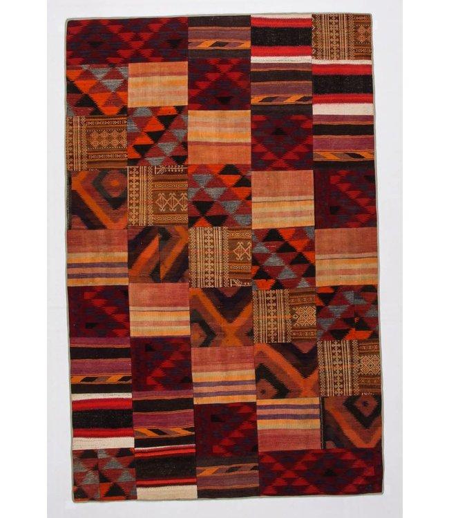 kelim patchwork tapijt 316x204 cm