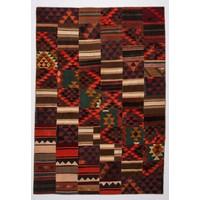 kelim patchwork tapijt 354x246 cm