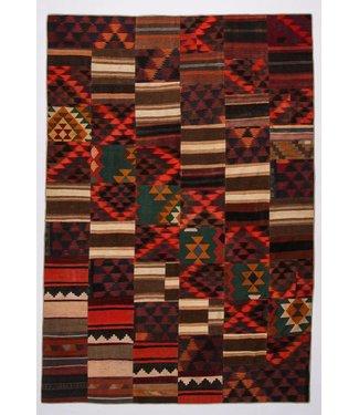 Patchwork Kilim carpet 354x246 cm