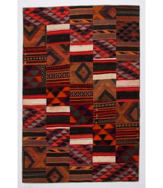 Patchwork Kilim carpet 304x202 cm