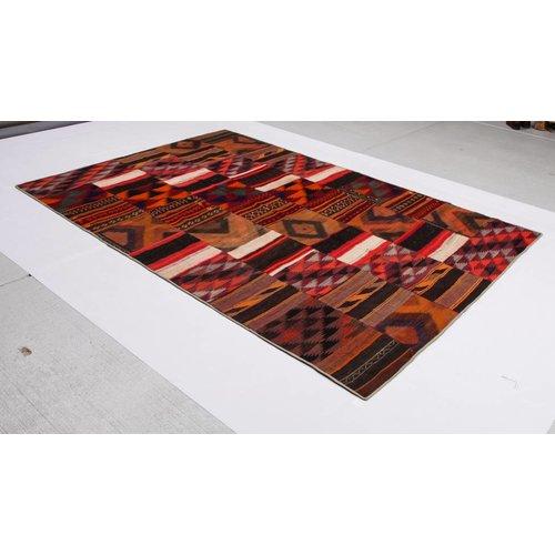 kelim patchwork tapijt 304x202 cm