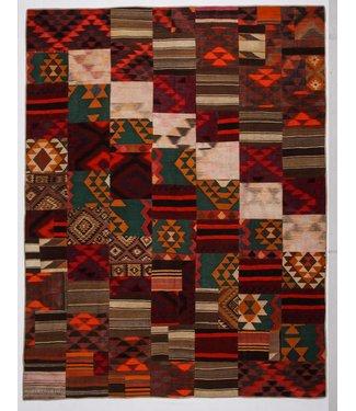 kelim patchwork tapijt 361x278 cm