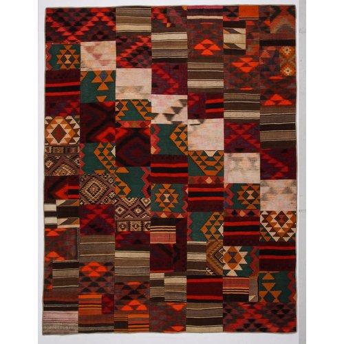 Kelimshop kelim patchwork tapijt 361x278 cm