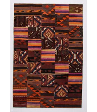 Patchwork Kilim carpet 303x200 cm