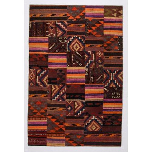 Kelimshop kelim patchwork tapijt 303x200 cm