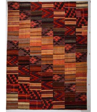 kelim patchwork tapijt 413x306 cm