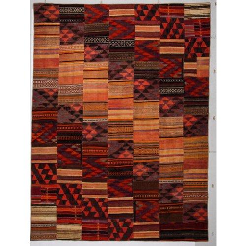 Patchwork Kelim teppich 413x306 cm