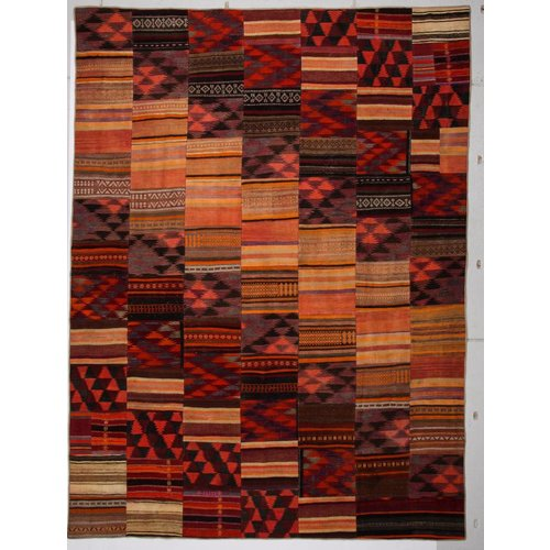 Kelimshop kelim patchwork tapijt 413x306 cm