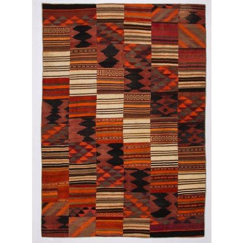 Kelimshop kelim patchwork tapijt 358x252 cm