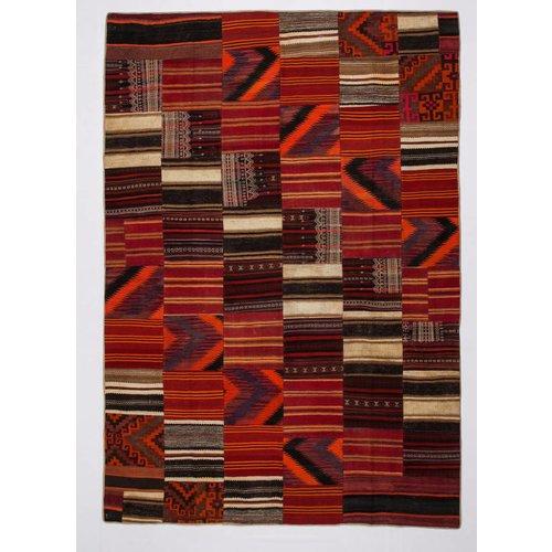 Kelimshop kelim patchwork tapijt 356x247 cm