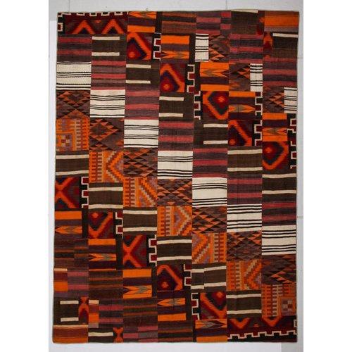 Kelimshop kelim patchwork tapijt 412x305 cm