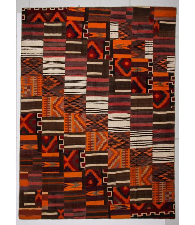 Patchwork Kilim carpet 412x305 cm