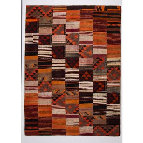 Kelimshop kelim patchwork tapijt 376x277 cm
