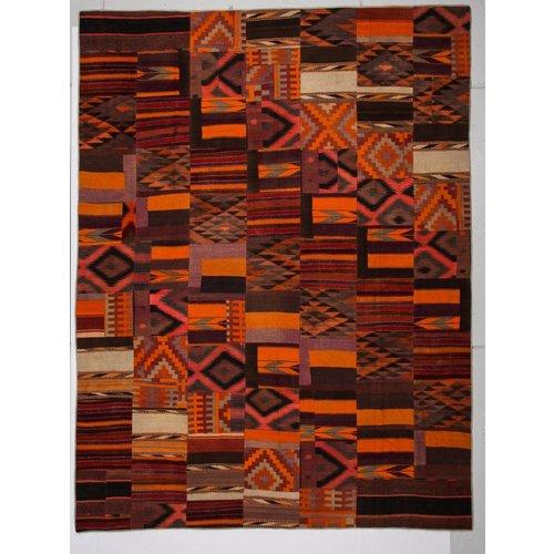 Kelimshop kelim patchwork tapijt 396x301 cm
