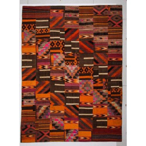 Kelimshop kelim patchwork tapijt 409x302 cm