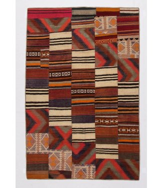 kelim patchwork tapijt 250x165 cm