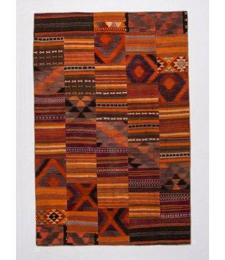 kelim patchwork tapijt 304x201 cm
