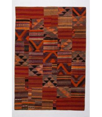 Patchwork Kilim carpet 293x198 cm