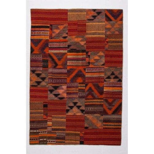 Kelimshop kelim patchwork tapijt 293x198 cm