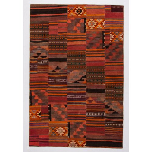 Kelimshop kelim patchwork tapijt 303x199 cm