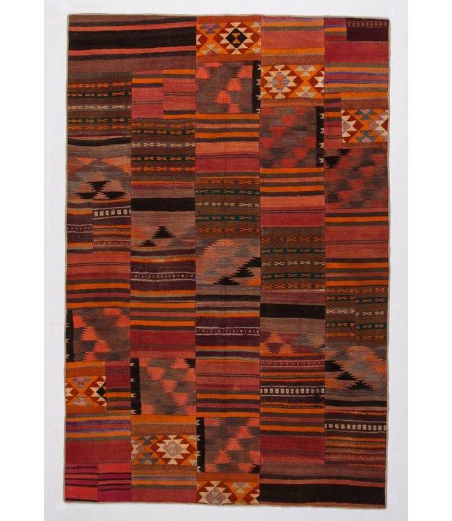 Patchwork Kilim carpet 303x199 cm