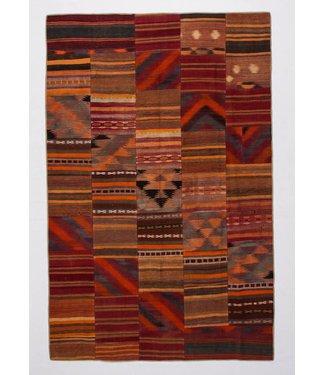 kelim patchwork tapijt 309x200 cm