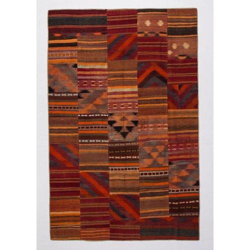 Kelimshop kelim patchwork tapijt 309x200 cm