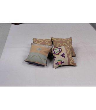 kelim kussens 4x unique Kilim Cushion ca 40x40 cm