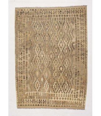 kilim rug natural 290x207 cm