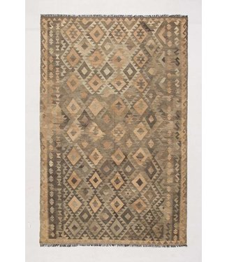 KELIMSHOP kilim rug natural 297x191 cm