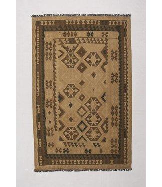 KELIMSHOP kilim rug natural 301x194 cm