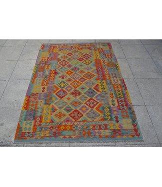 kelim tapijt 253x179cm