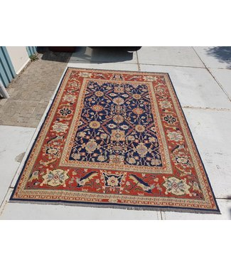 KELIMSHOP Handwoven Sumak kilim rug 369x271 cm