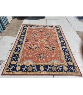 KELIMSHOP Handwoven Sumak kilim rug 402x296 cm