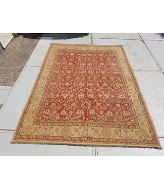 KELIMSHOP Handwoven Sumak kilim rug 361x267 cm