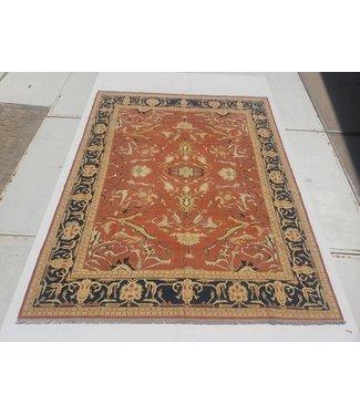 KELIMSHOP Handwoven Sumak kilim rug 350x269 cm