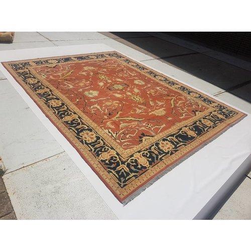 Handgewebt Sumak kelim teppich 350x269 cm