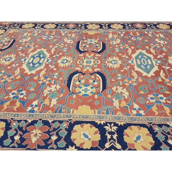 Handwoven Sumak kilim rug 433x303 cm