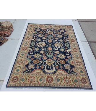 KELIMSHOP Handwoven Sumak kilim rug 362x260 cm