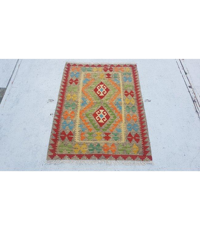 kelim kleed 116 x 87 cm cmvloerkleed tapijt kelims hand geweven