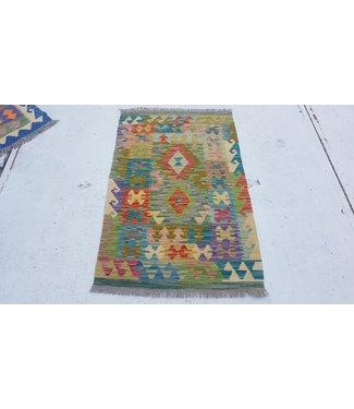 KELIMSHOP kelim kleed 126 x 80 cm vloerkleed tapijt kelims hand geweven