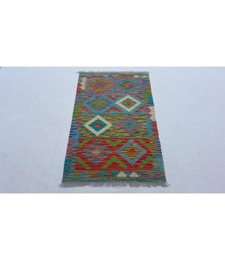 KELIMSHOP kelim kleed 121x75 cm vloerkleed tapijt kelims hand geweven
