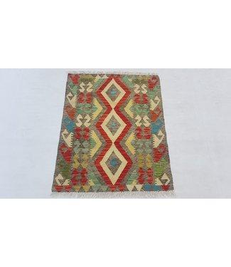 KELIMSHOP kelim kleed 110 x 87 cm vloerkleed tapijt kelims hand geweven
