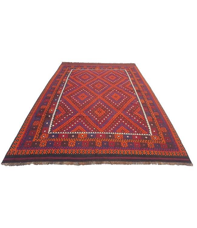 kelim kleed    405x272 cm vloerkleed tapijt kelims hand geweven