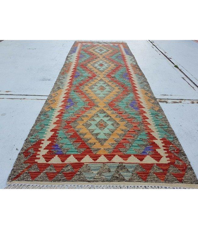 kelim kleed    291x88cm  vloerkleed tapijt kelims hand geweven