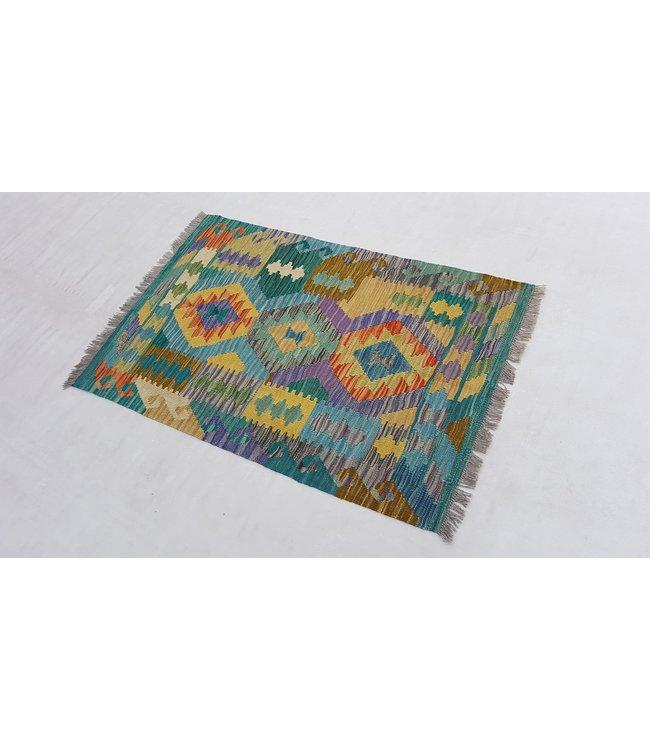 kelim kleed  125 x 81 cm vloerkleed tapijt kelims hand geweven